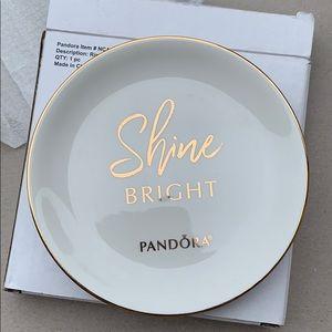 Authentic Pandora jewelry tray/dish
